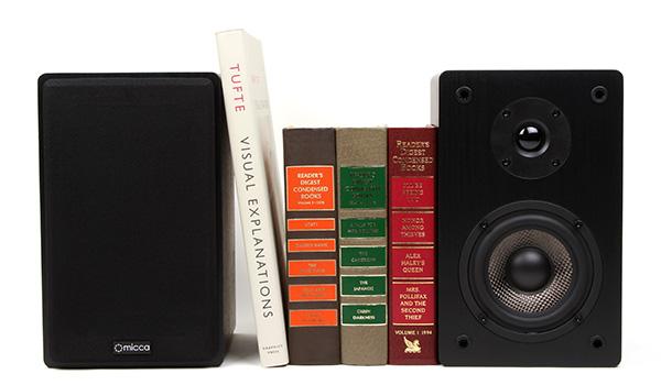 Micca MB42 4 Inch Bookshelf Speakers
