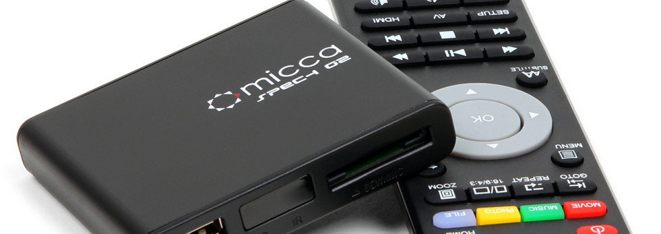 Micca Speck G2 Ultra-Portable Media Player